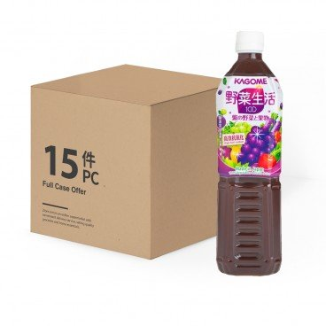 KAGOME Grape Mixed Juice 720MLX15