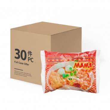 MAMA Instant Rice Chand Noodle tom Yum case 55GX30