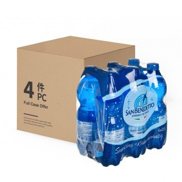 SAN BENEDETTO Sparkling Mineral Water 500MLX6X4