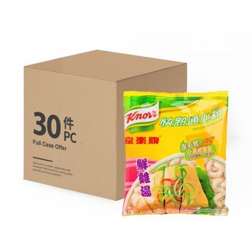 KNORR Quick Serve Macaroni chicken Broth case 80GX30