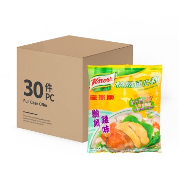 KNORR Quick Serve Macaroni abalone Chicken Broth case 80GX30