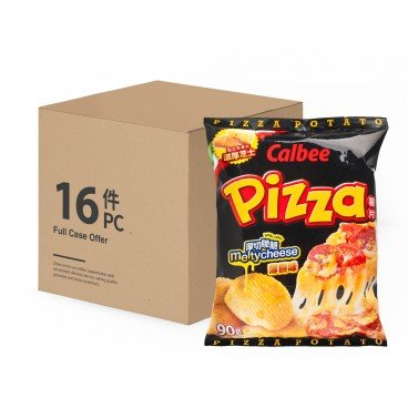 CALBEE Pizza Chips 90GX16