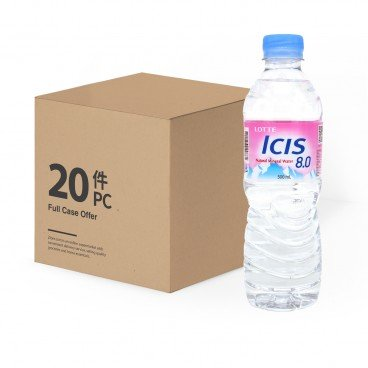 LOTTE ICIS Mineral Water 500MLX20