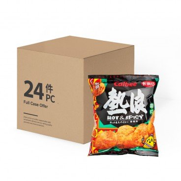 CALBEE Potato Chips hot Spicy Flavour 25GX24
