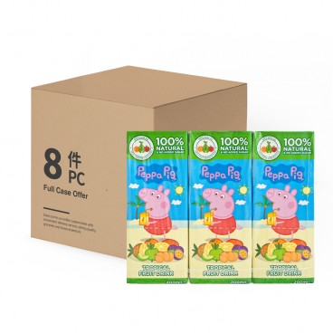 PEPPA PIG Tropical Fruit Juices 200MLX3X8