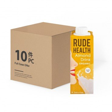 RUDE HEALTH Organic Mini Almond Drink 250MLX10