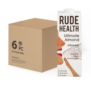 RUDE HEALTH - Organic Ultimate Almond Drink - 1LX6