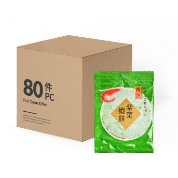 FOUR SEAS Prawn Cracker seaweed 15GX80