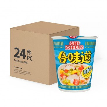 NISSIN Cup Noodle seafood case 75GX24