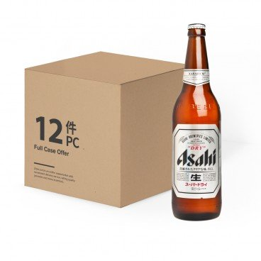 ASAHI Japanese Beer Bottle 633MLX12