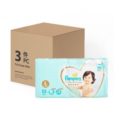 PAMPERS幫寶適(PARALLEL IMPORT) - Ichiban Large Case - 52'SX3