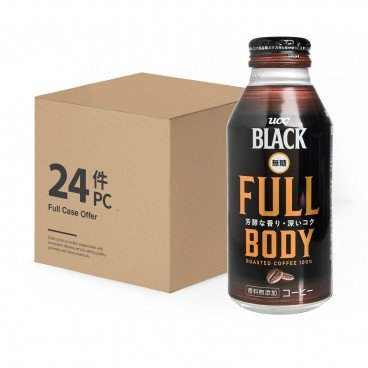 UCC - Sugar Free Black Coffee - 375MLX24