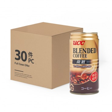 UCC Blend Coffee Slightly Sweet 185MLX30