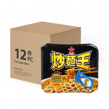 DOLL Fried Noodle black Pepper Beef Flavour case 117GX12