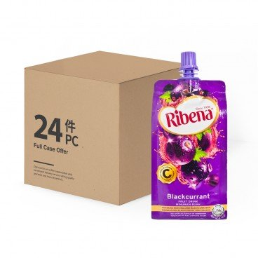 RIBENA Blackcurrant Fruit Drink Case 330MLX24