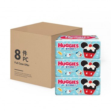 HUGGIES好奇 Soft Baby Wipes Refill Tripack 30'SX3X8