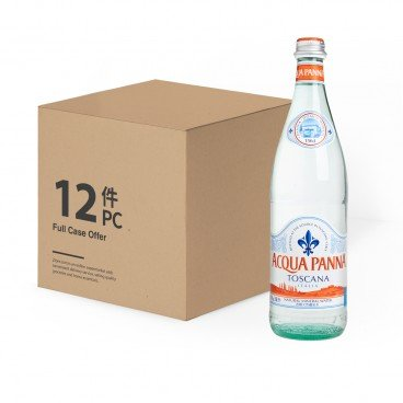 ACQUA PANNA Still Natural Mineral Water bottle 750MLX12
