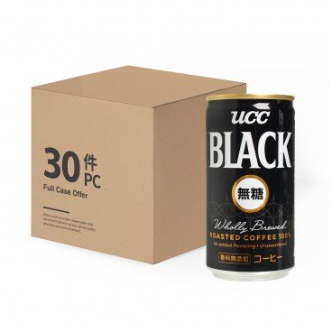 UCC - Black Coffee Sugar free - 185MLX30