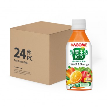 KAGOME Carrot Mixed Juice Case 280MLX24