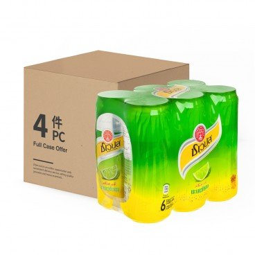 SCHWEPPES(PARALLEL IMPORT) - Thai Limited Sparkling Manao Soda - 330MLX6X4