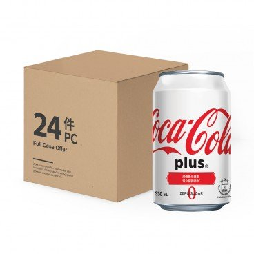 COCA-COLA - Coke Plus Case Offer - 330MLX24