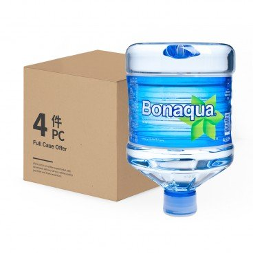 BONAQUA Mini carboy Mineralized Water 4.8LX4