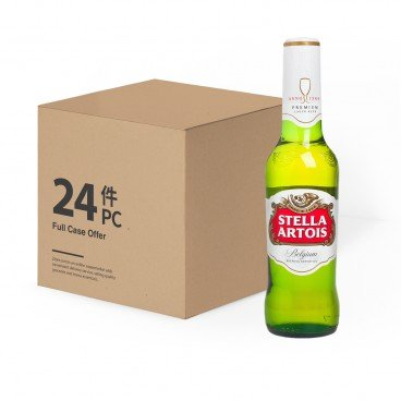 STELLA ARTOIS(PARALLEL IMPORT) - Imported Premium Beer - 330MLX24