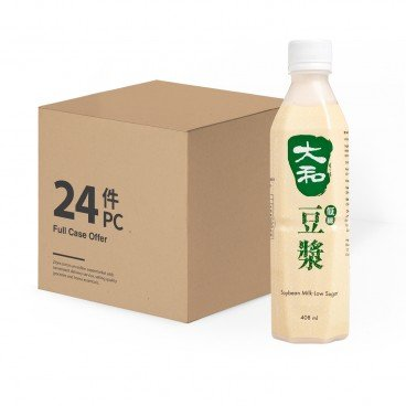 TAI WO Soya Bean Milk low Sugar case Offer 408MLX24