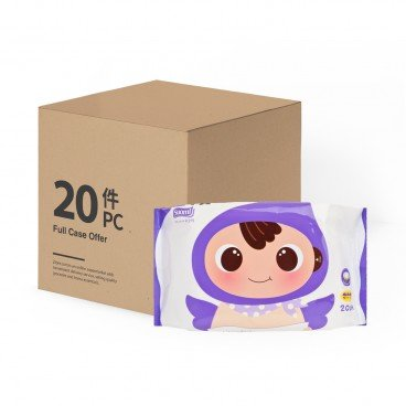 SOONDOONGI Premium Embossing Baby Wet Tissue case Offer 20'SX20