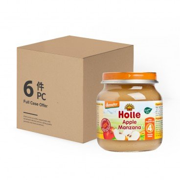 HOLLE - Organic Apple Pure case Offer - 125GX6