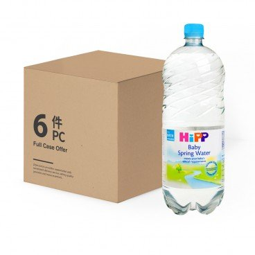 HIPP Baby Water case Offer 1.5LX6