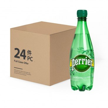 PERRIER Sparkling Mineral Water Pet 500MLX24