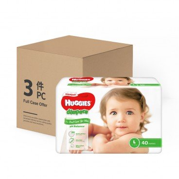 HUGGIES - Diamond Diaper L case Offer - 40'SX3