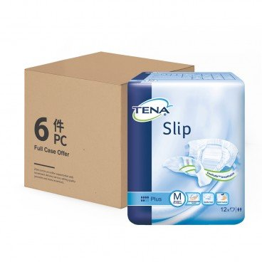 TENA Slip Plus Medium case Offer 12'SX6