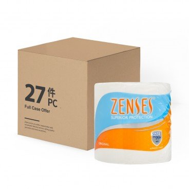 ZENSES Roll Tissue original Full Case Single Roll 27'S