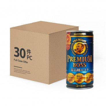SUNTORY Premium Boss Slightly Sweet Coffee case Offer 185GX30