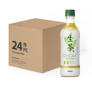 KIRIN - Rich Green Tea No Caffeine case Offer - 430MLX24