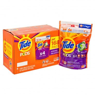 TIDE - He Laundry Detergent Pods 168 Counts - 168'S