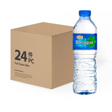 BONAQUA - Mineralized Water Case - 500MLX24