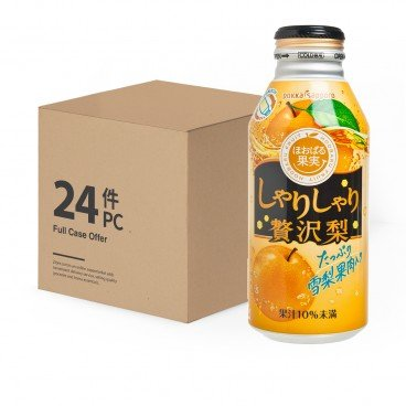 POKKASAPPORO - Pear Juice case - 400GX24