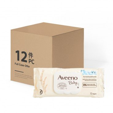 AVEENO Baby Wipes Case Offer 72'SX12