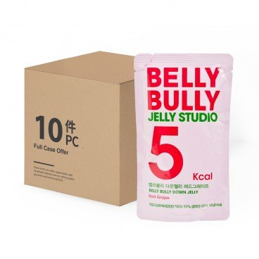 BELLY BULLY Jelly Red Grape Box Set 150GX10