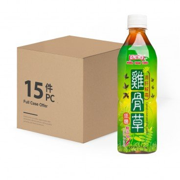 HUNG FOOK TONG Canton Love Pes Vine Drink case Offer 500MLX15
