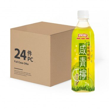 HUNG FOOK TONG - Salted Lime Drink case Offer - 500MLX24