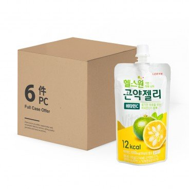 LOTTE - Konjac Jelly Vitamine C case - 130GX6