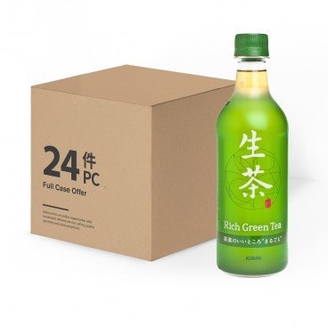 KIRIN - Rich Green Tea Case - 525MLX24