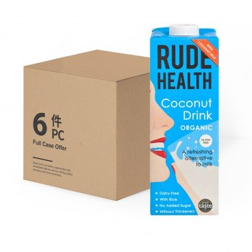 RUDE HEALTH - Organic Coconut Drink Case - 1LX6