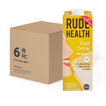 RUDE HEALTH - Organic Oat Drink Case - 1LX6