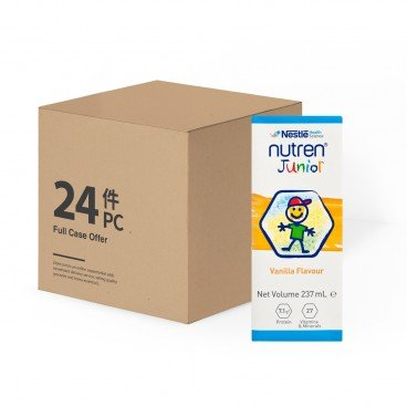 NESTLE - Nutren Junior Rtd case Offer - 237ML X 24