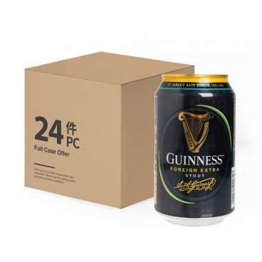 GUINNESS(PARALLEL IMPORT) - Stout Case Offer - 330MLX24